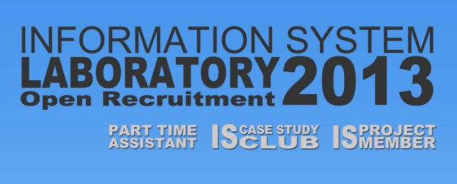 IS Lab Recruitment