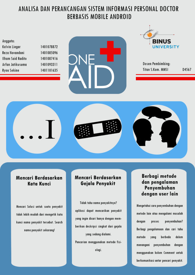 ONE AID Poster