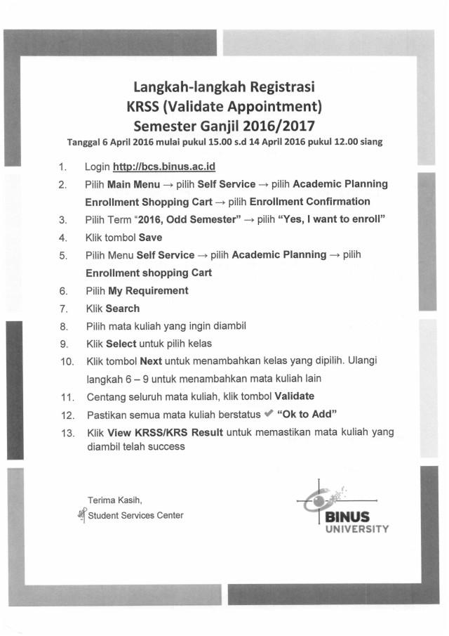 Langkah KRSS